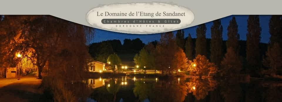 Gîtes du Domaine de l'Étang de Sandanet