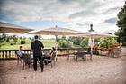 terrasse: Restaurant les fresques