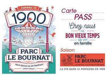 PARC LE BOURNAT - 1 Pass Saison enfant OFFERT pour l'achat de 2 Pass Saison adulte