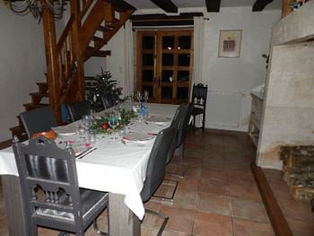 Chambres d'hôtes Au Pays de Jacquou - Un séjour de 2 nuitées avec petit-déjeuner et repas du réveillon du lundi 30 décembre 2019 au mercredi 1 janvier 2020.