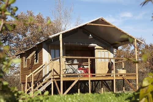 Chalet Lodge du Camping the Offer