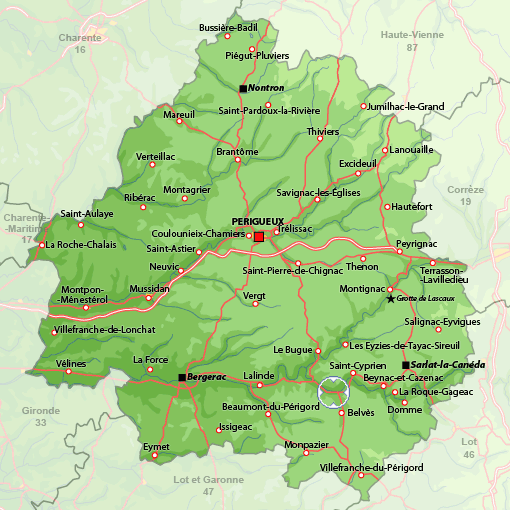 Location Périgord noir