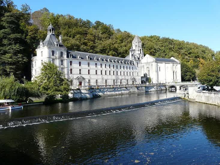 Brantôme Abbey