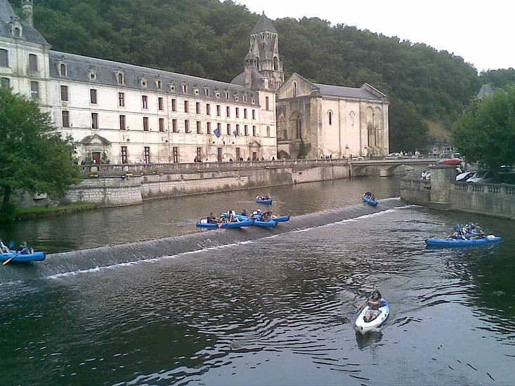 Canoas Bourdeille ocio