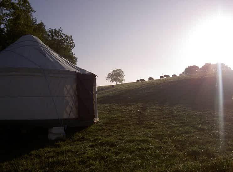 Quirky Camping yourtes