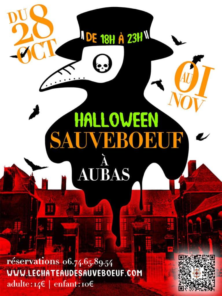 Halloween au château de Sauveboeuf 2020