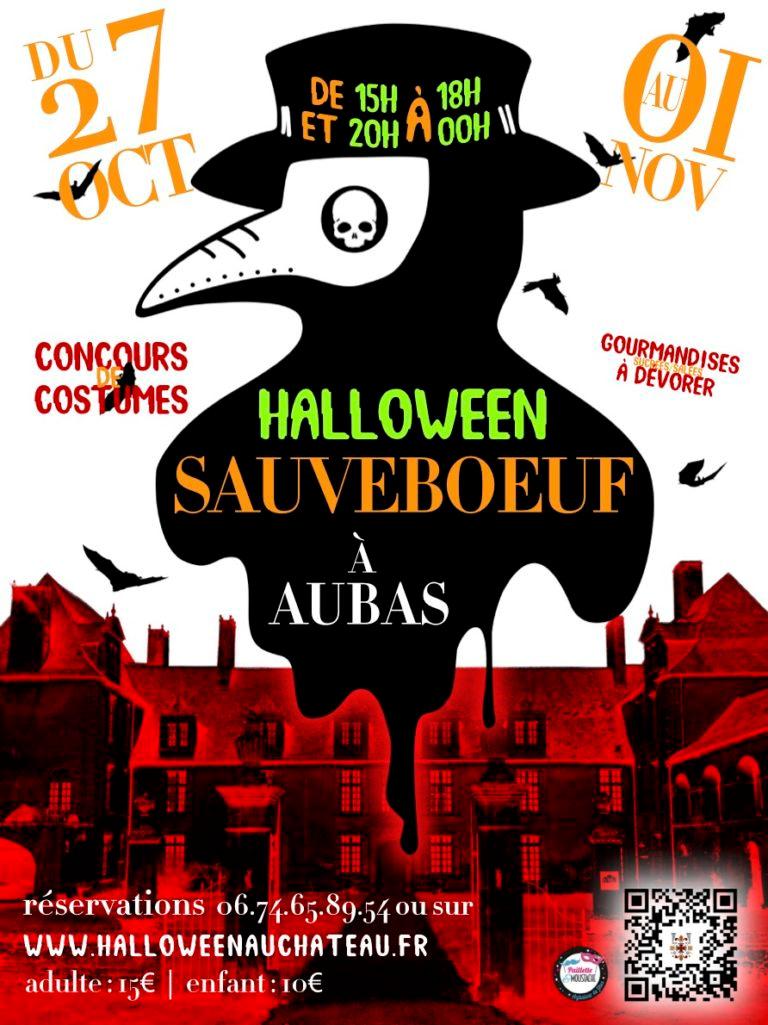 Halloween au château de Sauveboeuf 2021