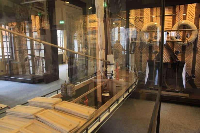 Museum van de stad Bergerac, wijn en vervoer over water