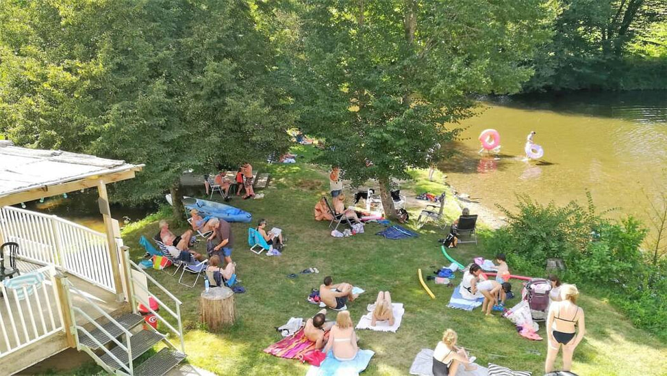Camping le Clupeau